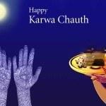 Karwa Chauth Chand Shayari SMS
