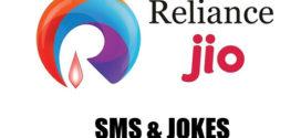 Reliance Jio 4G jokes SMS