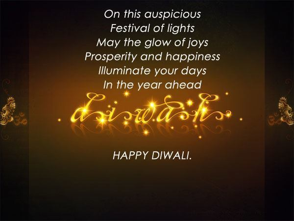 Diwali Festival Text SMS