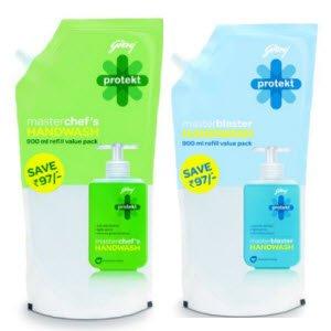 Godrej Protekt Handwash 900 ml Rs.99 with free shipping – Amazon