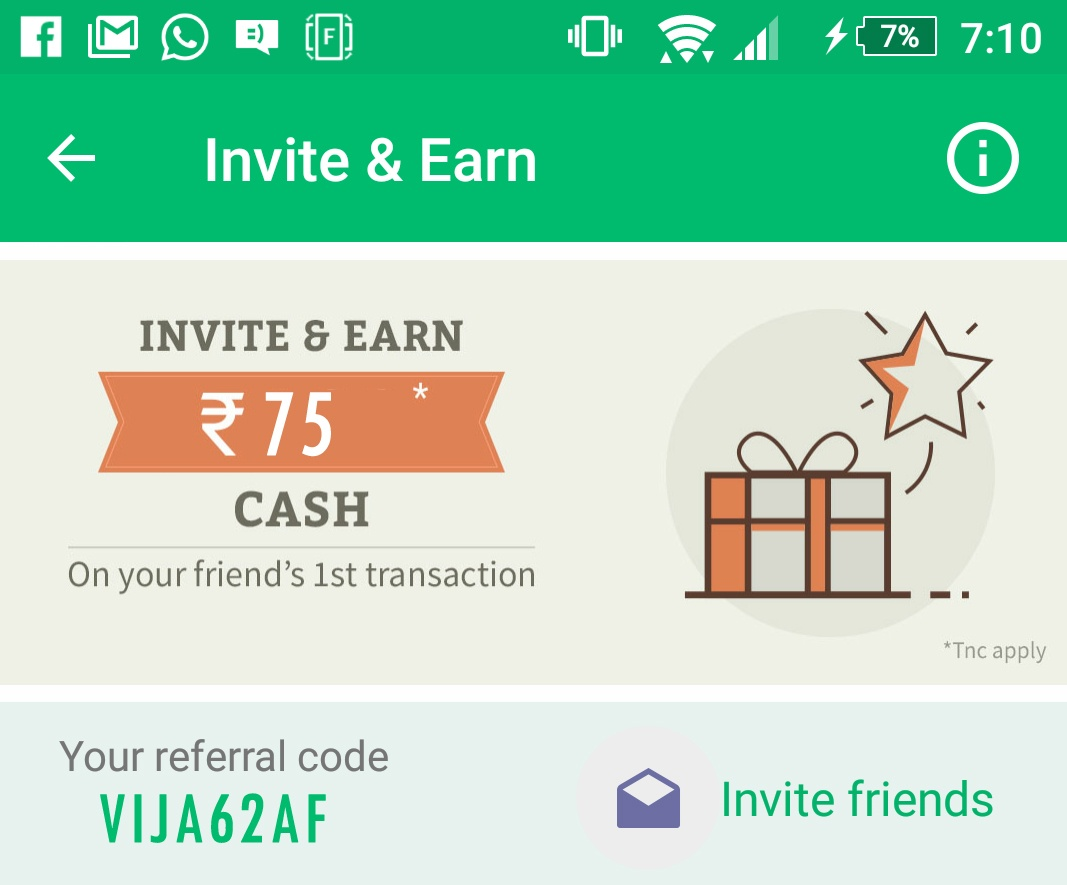 Chillr app refer and earn Rs 75 on every Referral - Unlimited